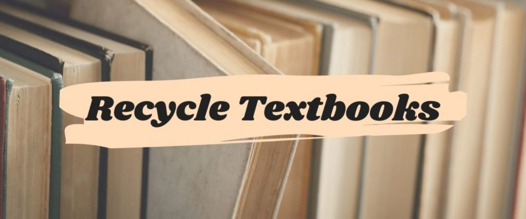 recycle textbooks