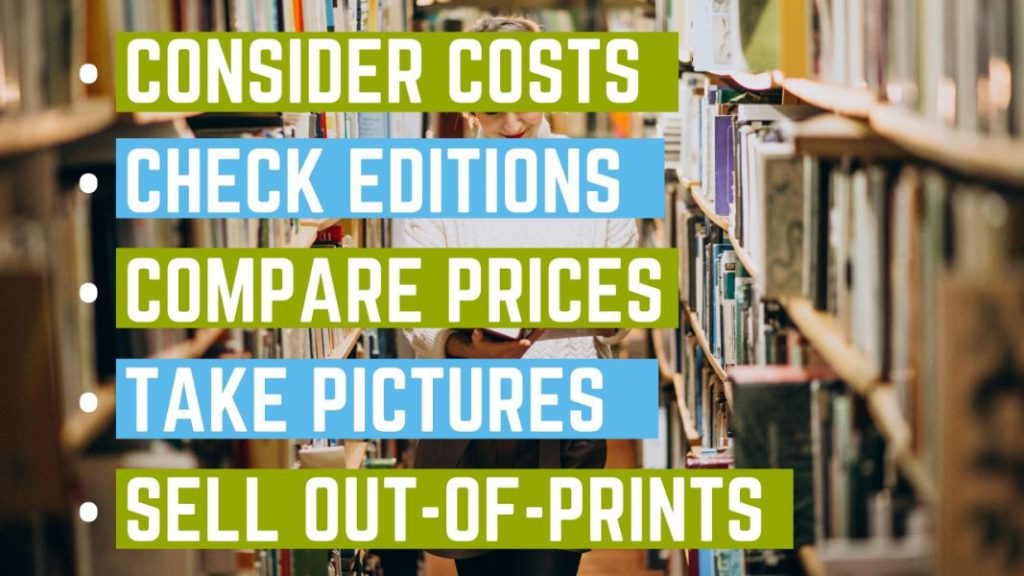 selling textbooks - tips